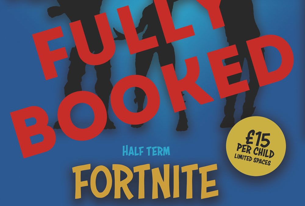 Half Term Fortnite Workshop